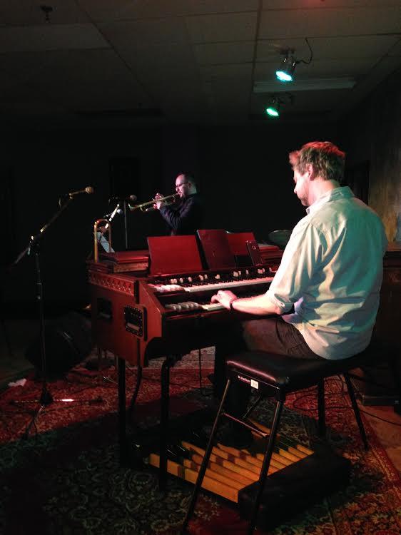 Marcus Lewis Quartet tour in Sioux City Iowa, 4.11.2015